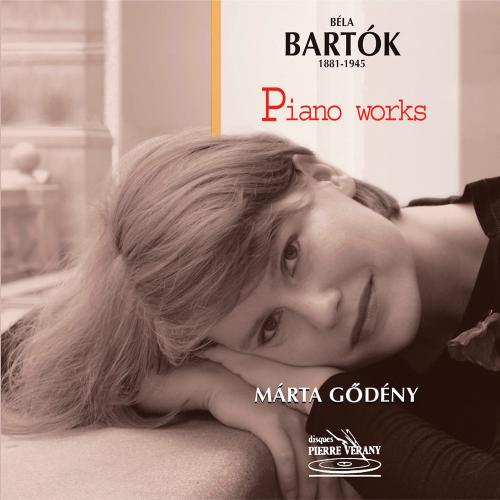 Béla Bartók. Klavierwerke. CD.