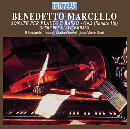 Benedetto Marcello. Sonaten für Flöte & Basso op.2. CD.