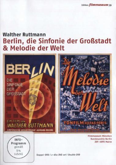 Berlin, die Sinfonie einer Großstadt & Melodie der Welt. 2 DVDs. Edition Filmmuseum 39.