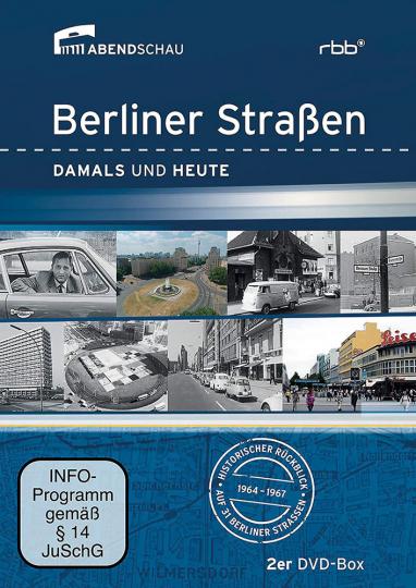 Berliner Straßen Damals und Heute 2 DVDs