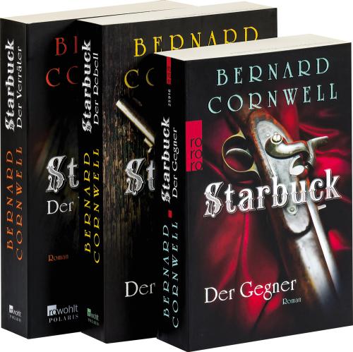 Bernard Cornwell. »Starbuck« Romanpaket. 3 Bände.