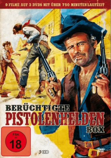 Berüchtigte Pistolenhelden Box 3 DVD