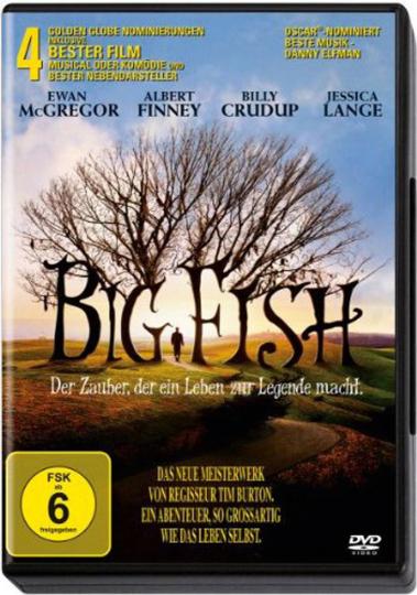 Big Fish. DVD.