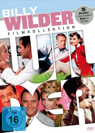 Billy Wilder Filmkollektion. 6 DVDs.
