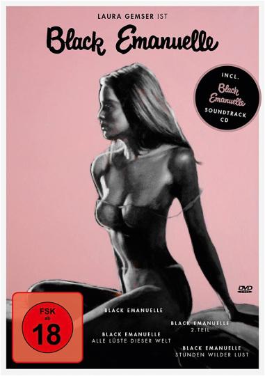 Black Emanuelle 1-4. 4 DVD + 1 CD