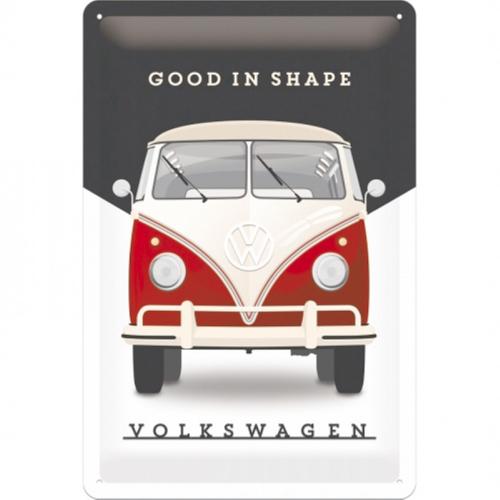 Blechschild  20*30 , Good in Shape VW