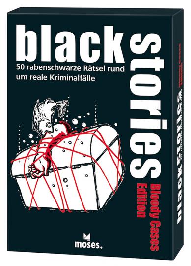 Bloody Cases Edition – 50 rabenschwarze Rätsel rund um reale Kriminalfälle