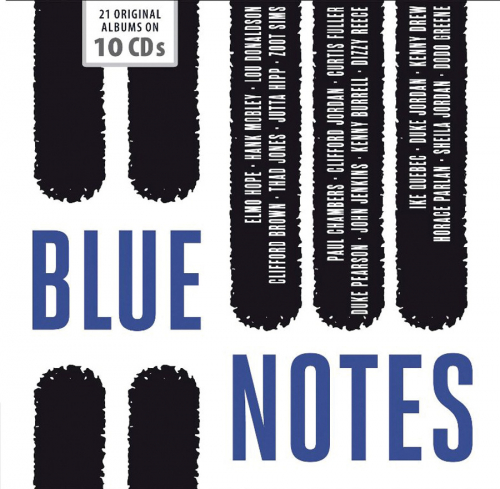 Blue Notes. 21 Alben. 10 CDs.