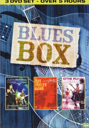 Blues Box 3 DVDs