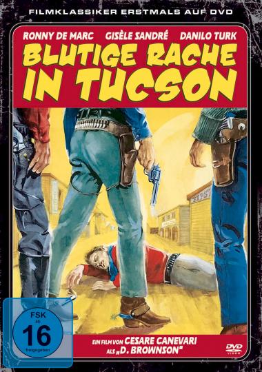 Blutige Rache in Tucson. DVD.