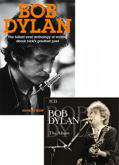 Bob Dylan. Mammoth Book und »Best of« Doppel-CD.