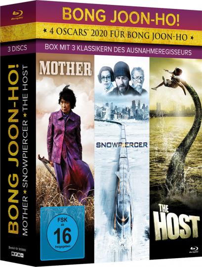 Bong Joon-ho! 3-Filme Box. 3 Blu-ray Discs