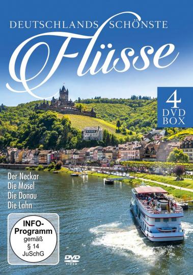 Box Deutschlands schönste Flüsse. 4 DVD Box.
