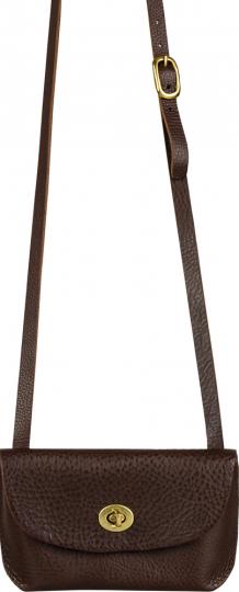 Braune Abendhandtasche & Clutch »Georgia Bag«.