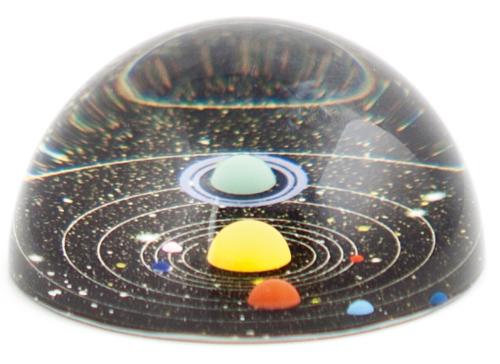 Briefbeschwerer »Planetarium«.