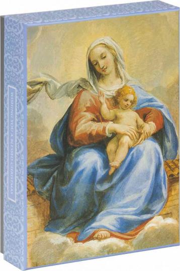 Briefkartenbox. Francesco Allegrini »Madonna von Loreto«.