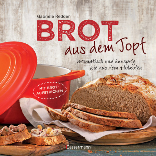 Brot aus dem gusseisernen Topf.