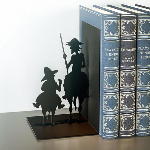 Buchstütze »Don Quichotte«.