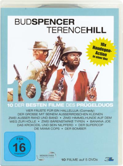 Bud Spencer & Terence Hill. Alpha Box. 5 DVDs.