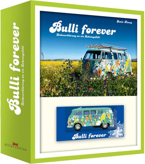 Bulli forever-Box - Mit Modell-Bulli von 1961 im Maßstab 1:38.