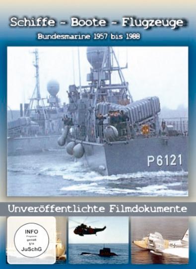 Bundesmarine 1957 bis 1988 - Schiffe, Boote, Flugzeuge DVD