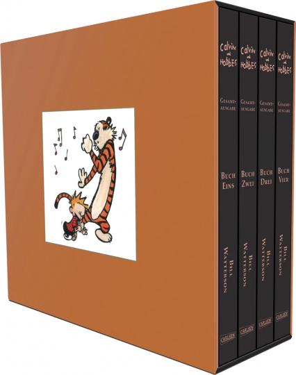 Calvin und Hobbes Gesamtausgabe. 4 Bände Im Schuber.