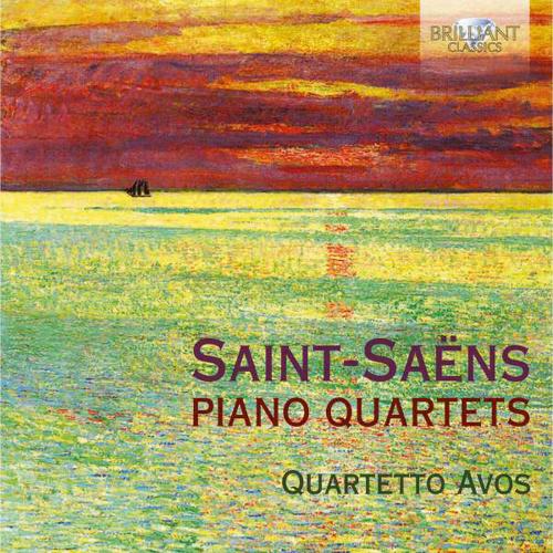 Camille Saint-Saens. Klavierquartette E-Dur & B-Dur op.41. CD.