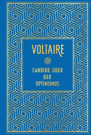 Candide oder der Optimismus - Hochwertige Leinenausgabe mit Goldfolienprägung.