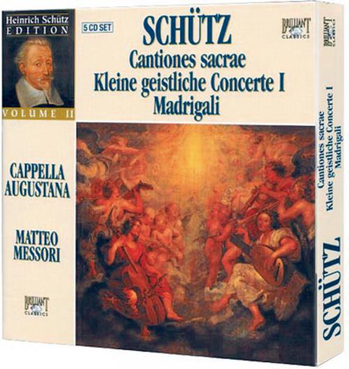 Cantiones sacrae, Kleine geistliche Konzerte 1, Madrigale 5 CDs