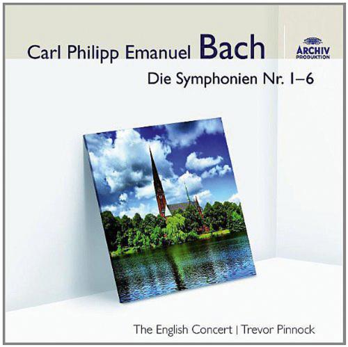 Carl Philipp Emanuel Bach. Symphonien Wq.182 Nr.1-6 »Hamburger«. CD.