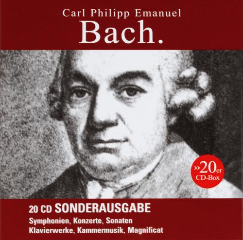 Carl Philipp Emanuel Bach. Werke (Sonderausgabe). 20 CDs.