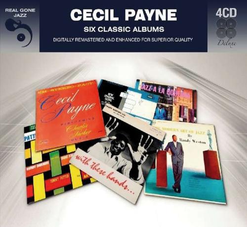 Cecil Payne. Six Classic Albums. 4 CDs.