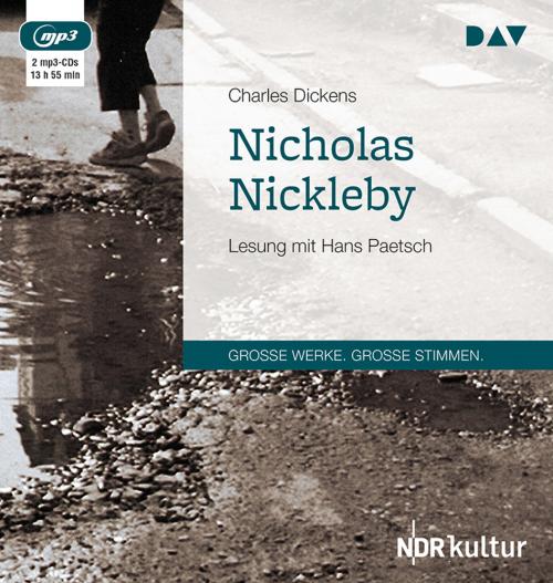 Charles Dickens. Nicholas Nickleby. 2 mp3-CDs.