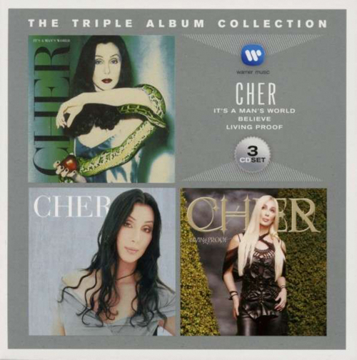 Cher. The Triple Album Collection. 3 CDs.
