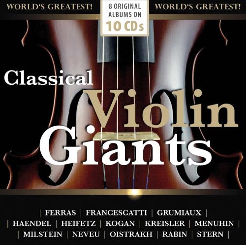 Classical Violin Giants. 8 Original-Alben. 10 CDs.