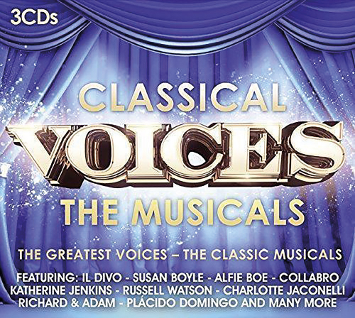 Classical Voices. The Musicals. 3 CDs.