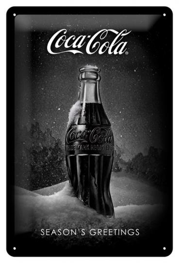 Coca Cola Snow black Bottle
