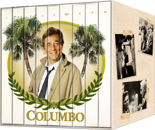 Columbo (Komplette Serie). 35 DVDs.