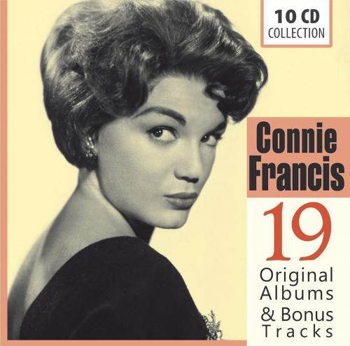 Connie Francis. 19 Original-Alben & Bonus Tracks. 10 CDs.