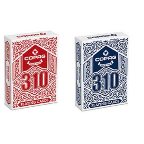 COPAG Poker-/Zauberkarten - Doppeldeck rot, blau