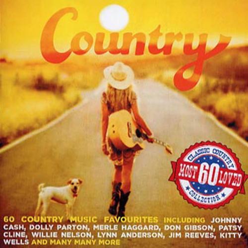 Country most loved 60 3 CDs