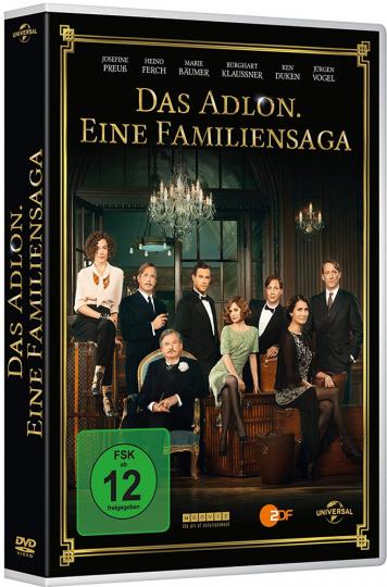 Das Adlon - Eine Familiensaga. 3 DVDs