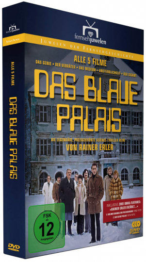 Das blaue Palais (Komplette Filmreihe). 3 DVDs.