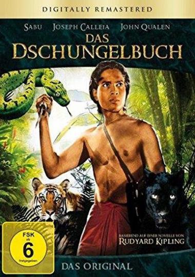 Das Dschungelbuch. DVD.