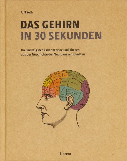 Das Gehirn in 30 Sekunden. Die wichtigsten Erkenntnisse und Thesen aus der Geschichte der Neurowissenschaften.