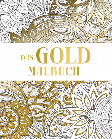 Das Gold Malbuch