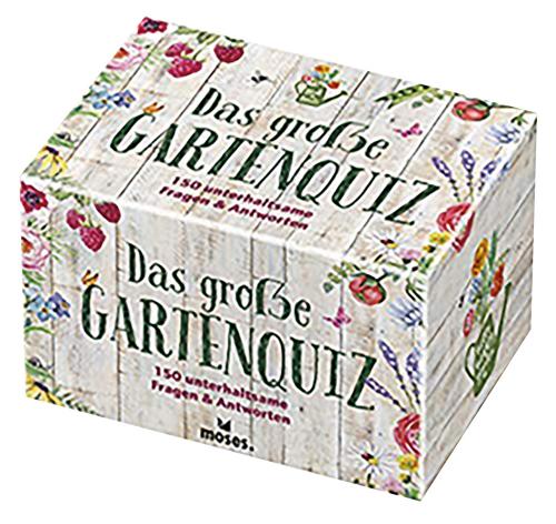Das große Gartenquiz. 150 unterhaltsame Fragen und Antworten.