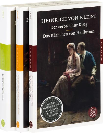 Das große Heinrich von Kleist Paket. 3 Bände.