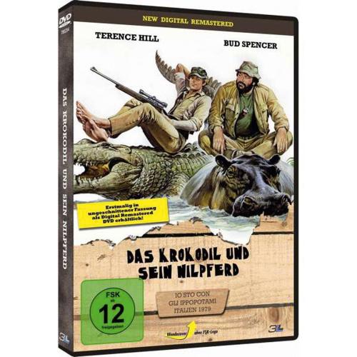 Das Krokodil und sein Nilpferd. DVD.