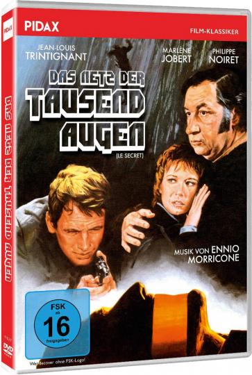 Das Netz der tausend Augen. DVD.